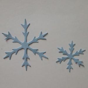 Diemond Dies Icy Snowflakes Die Set