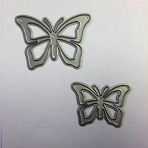 Diemond Dies Fluttering Butterflies Die Set
