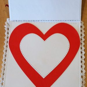 The Inside of Deb Hendrick's Sweet Kiss Card