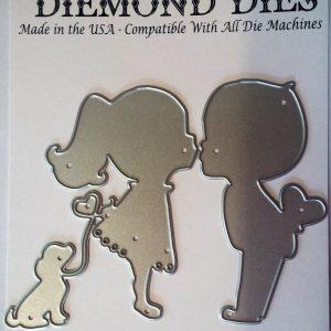 Diemond Dies Sweet Kiss Die Set